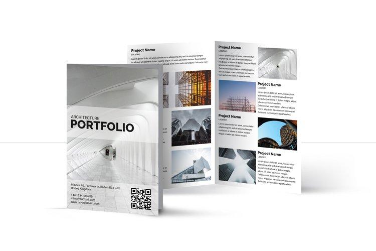 Architecture bifold Brochure   Multipurpose Brochure example image 1