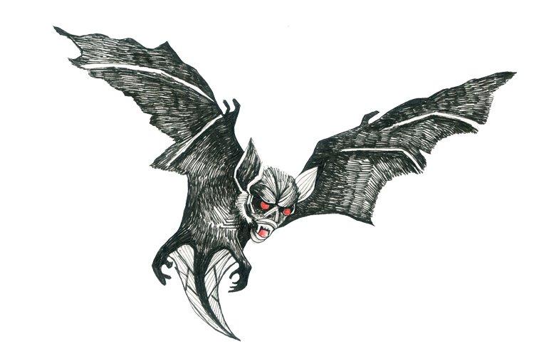 Bat monster games DnD