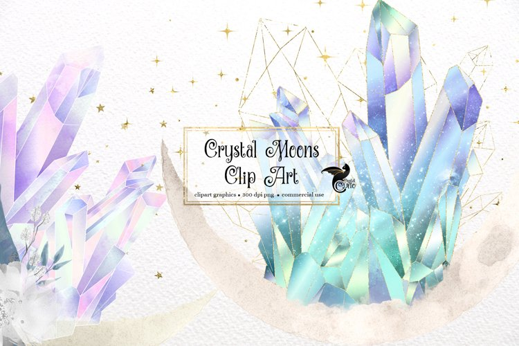 Crystal Moons Clipart