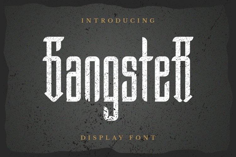 Web Font Gangster Font example image 1