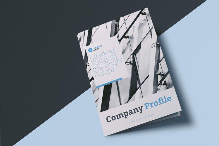 Company Profile Bi-Fold Brochure