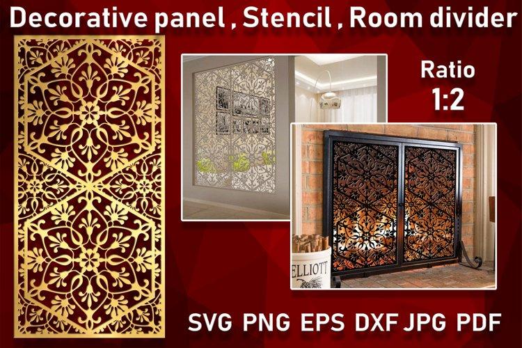 Decorative panel Room divider Wall hanging Stencil