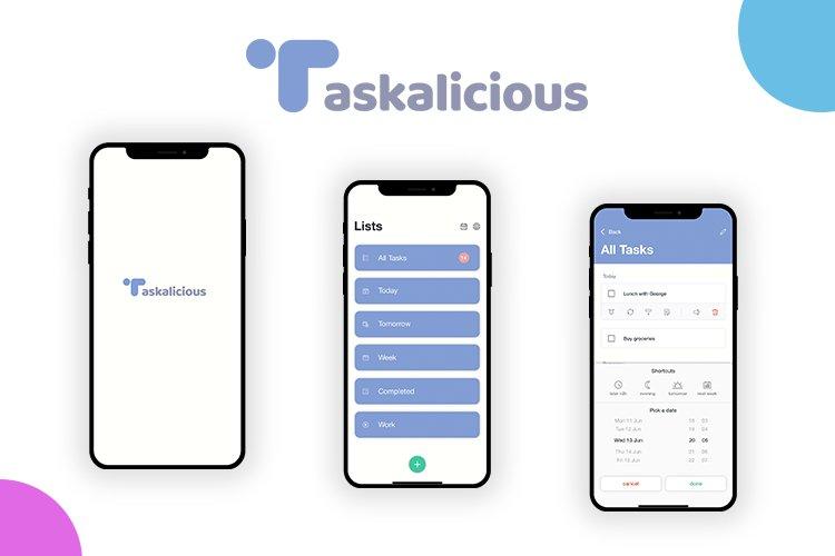 Taskalicious - iOS Task Manager