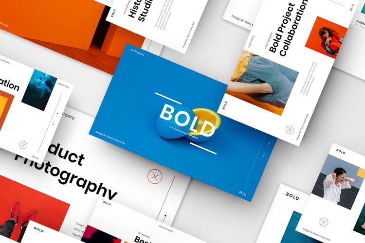 Bold - Creative Business Google SlideTemplate example image 1