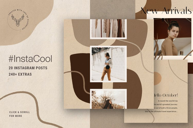 #InstaCool Instagram Post Templates example image 1