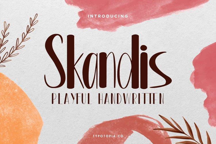 Skandis Playful Handwritten example image 1