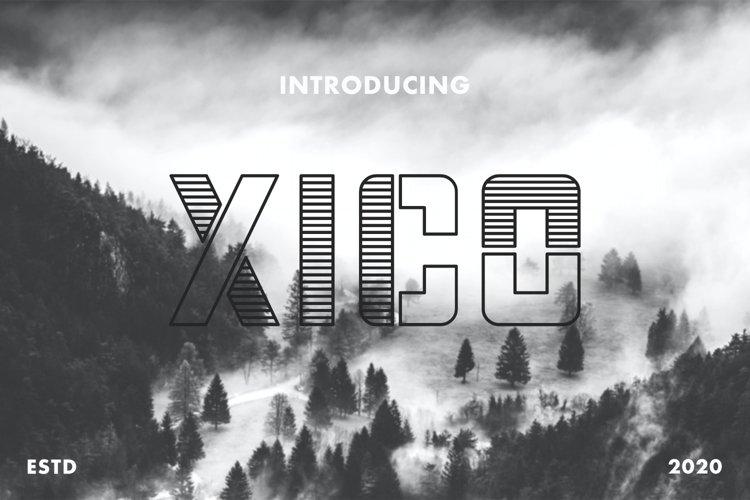 Xico - Display Font