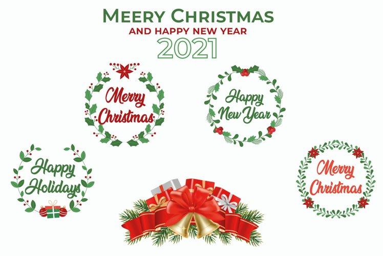 Christmas SVG Bundle, Christmas Ornaments Bundle example image 1