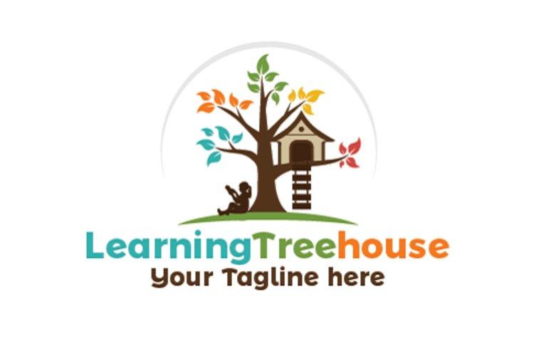 Learning tree House Logo example image 1
