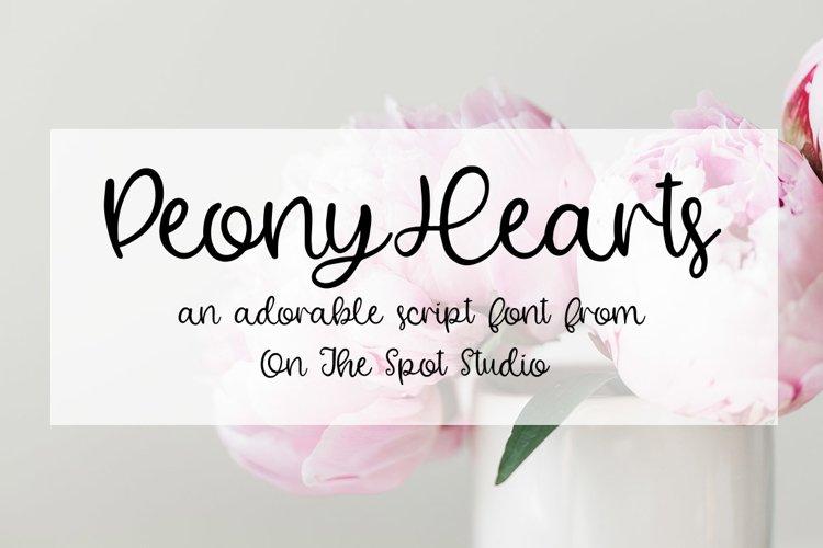 Peony Hearts example image 1