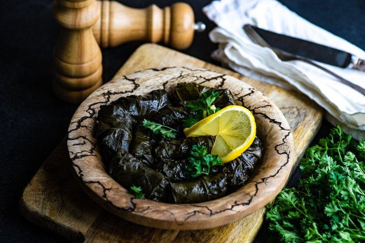 Traditional georgian tolma dish example image 1