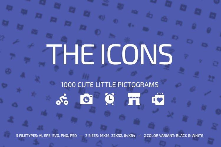 1000 Little Glyphs