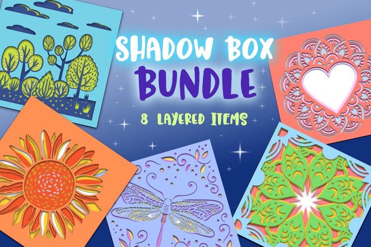 Shadow Box Bundle - 8 layered items & BONUS example