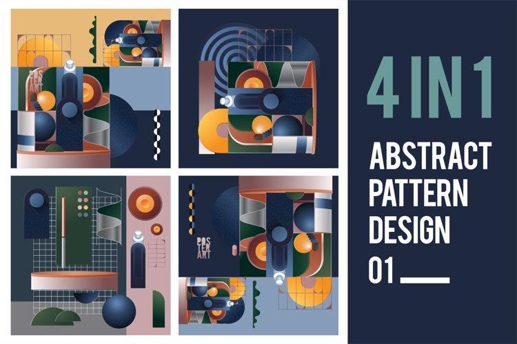 Abstract Pattern Design. Bundles 01