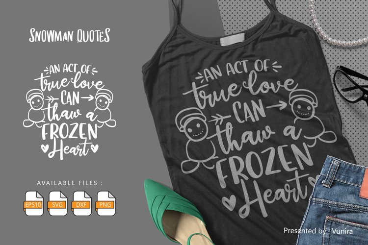 An Act Of True Love | Lettering Quotes example image 1