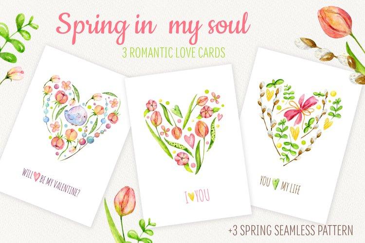 Spring in my soul. Love cards