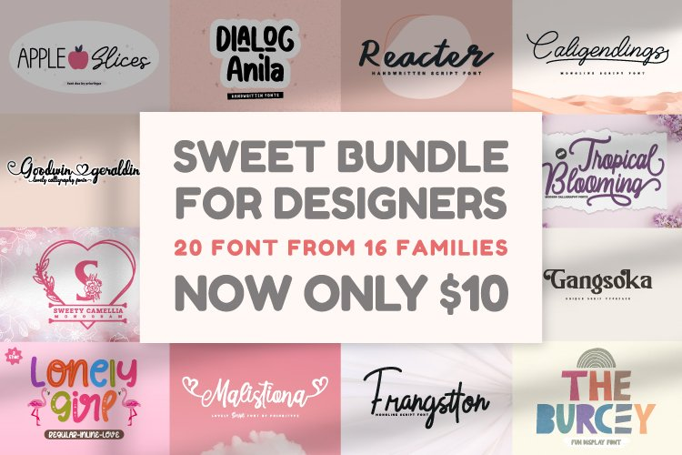 Sweet Bundle For Designers example image 1