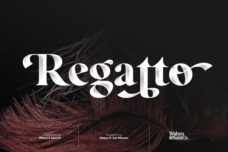 Regatto | Venetian Style Font example image 1