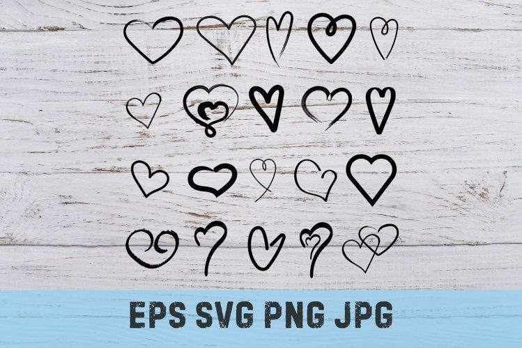 Graphic hearts SVG Bundle
