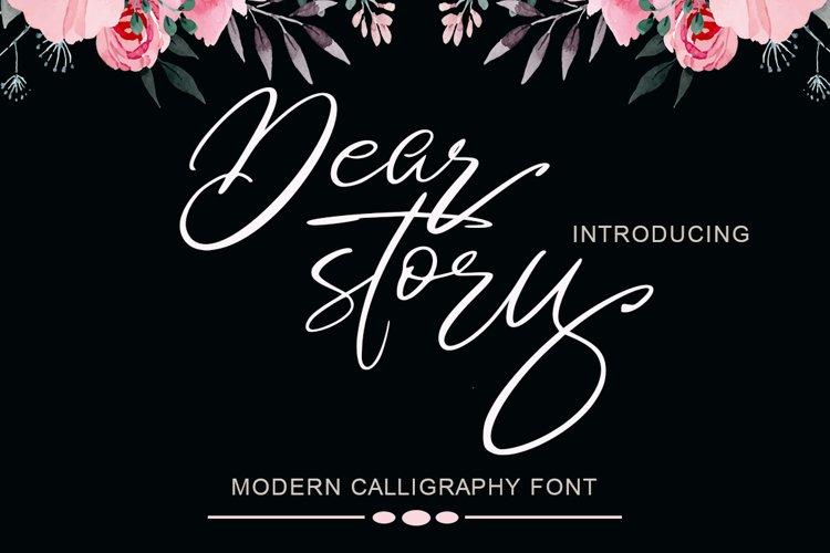 Dear story example image 1