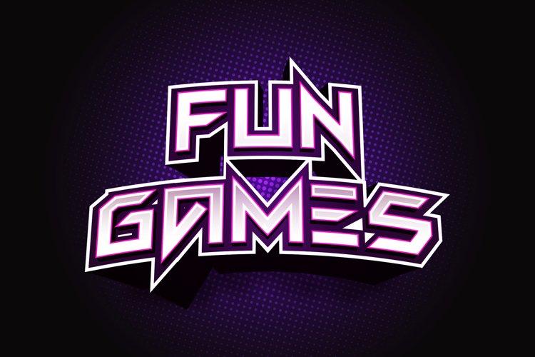 Fun Games - Futuristic Display Font example image 1