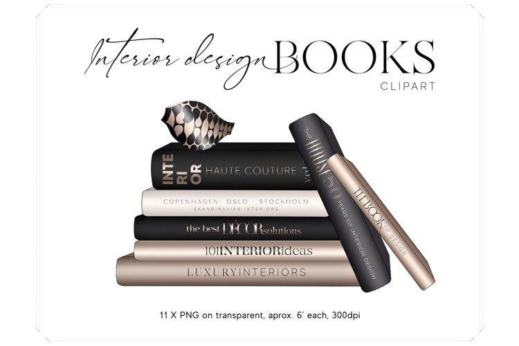 Interior Design Books Clipart - Coffee Table Books Clip Art
