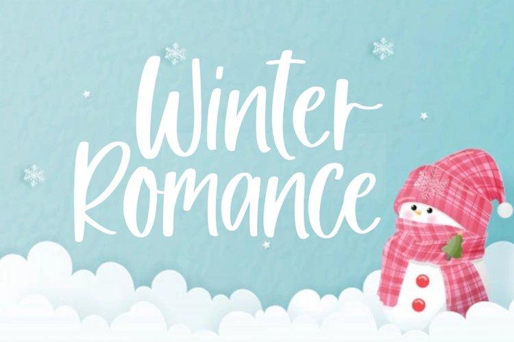 Winter Romance example image 1