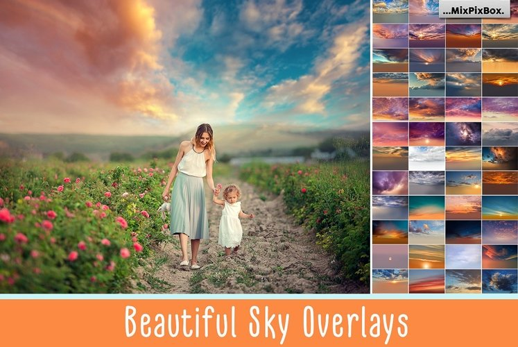 Beautiful Sky Overlays example image 1