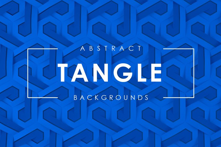 Tangle Abstract Backgrounds example image 1