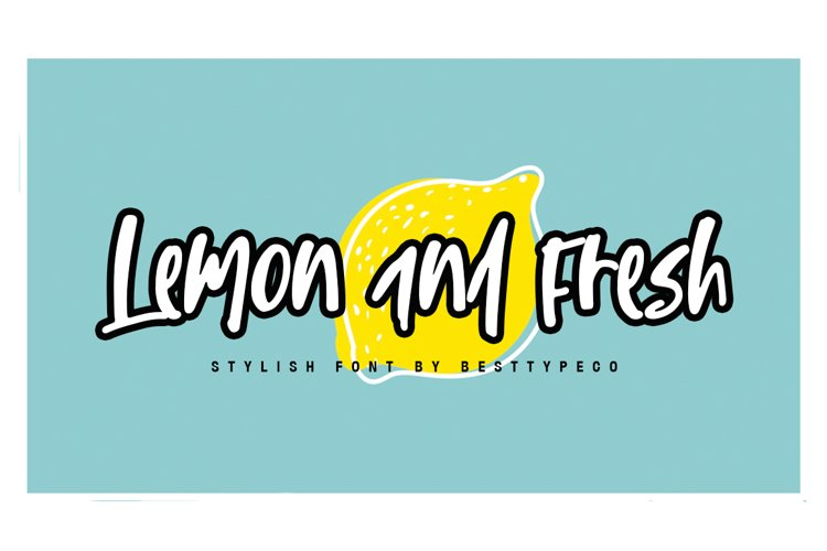 Lemon and Fresh example image 1