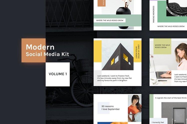 Modern Social Media Kit Vol. 1