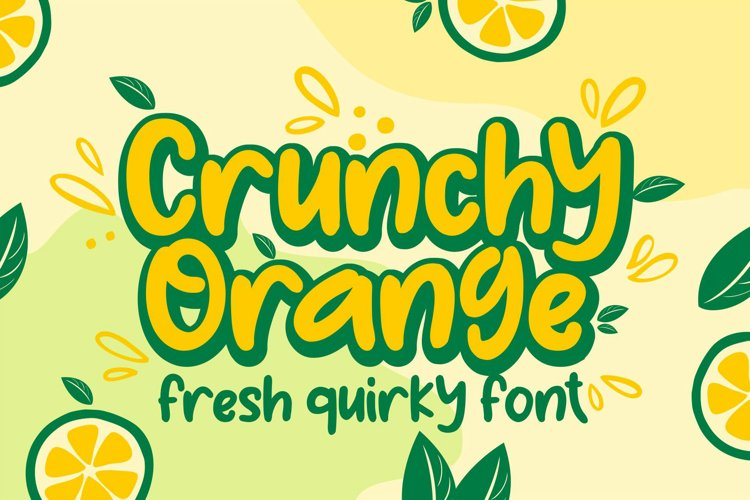 Crunchy Orange example image 1