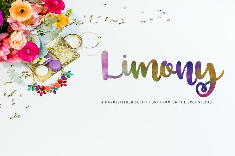 Limony Script example image 1