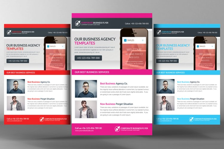Corporate Business Flyer Template example image 1