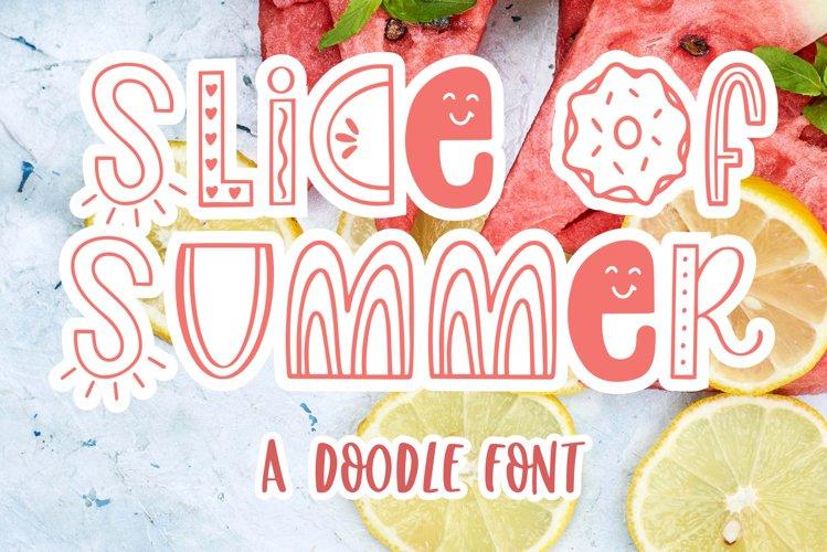 Slice of Summer, Symbols Font