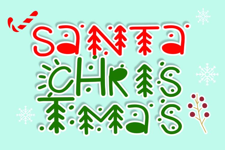 santa christmas example image 1