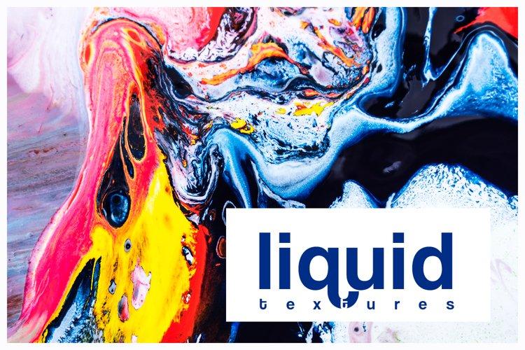 Textures liquid watercolor acrylic marble example image 1