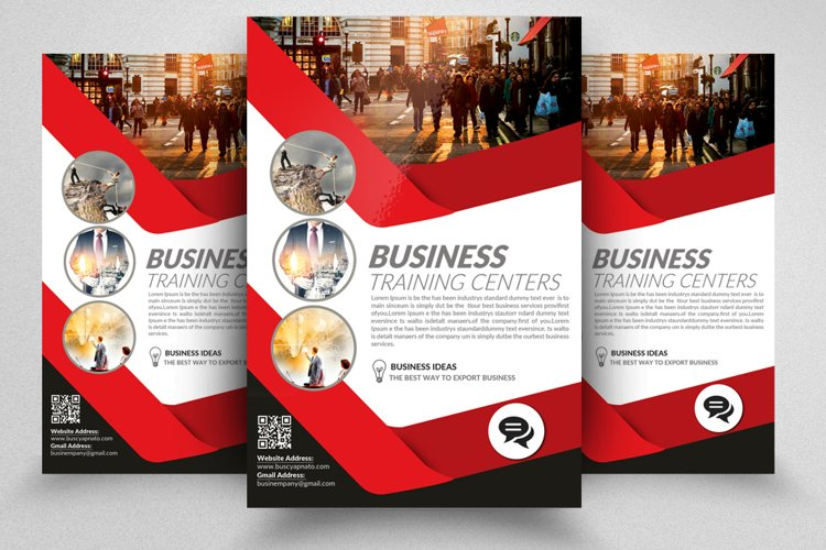 Financial Adviser Flyer Templates example image 1