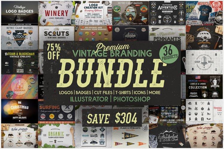 Mega Bundle SVG! 1100 Designs. Branding Bundle - Logo TShirt