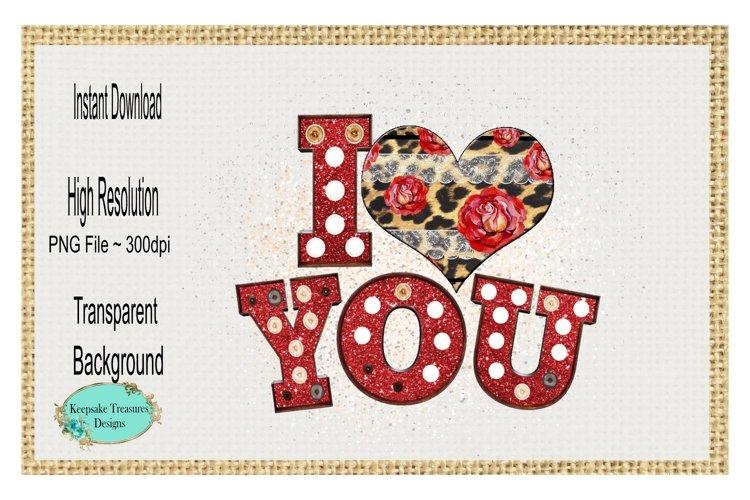 I Heart You, Rose Cheetah Heart
