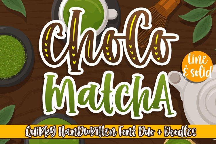 Choco Matcha example image 1