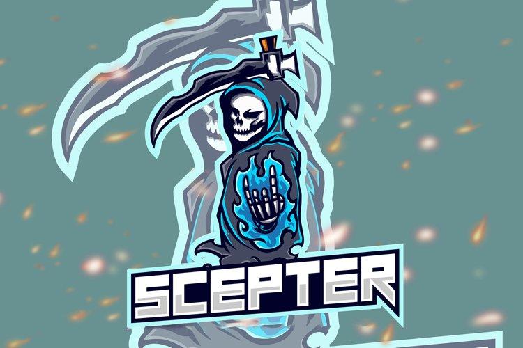 Scepter Squad Esport Gaming Logo