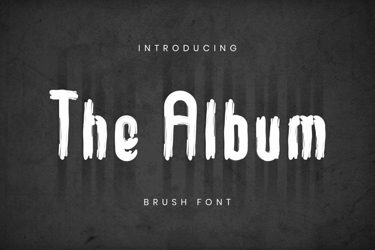 Web Font The Album Font example image 1