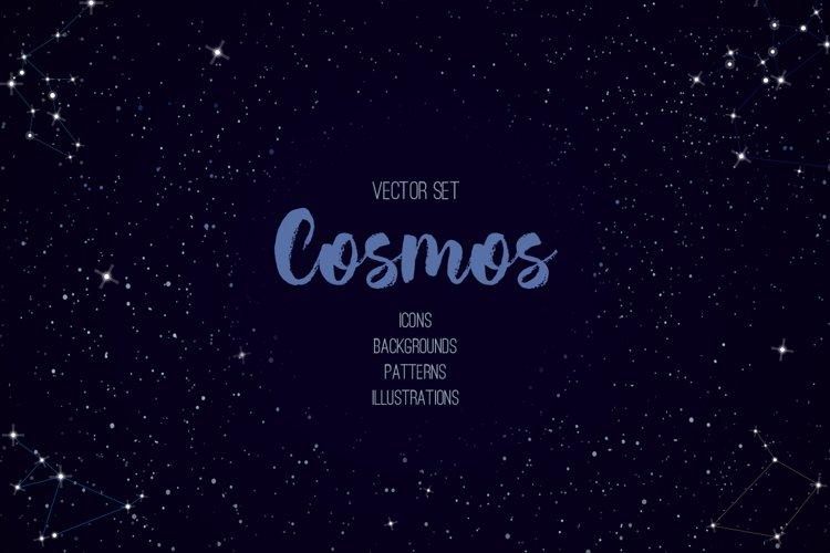 Cosmos vector set