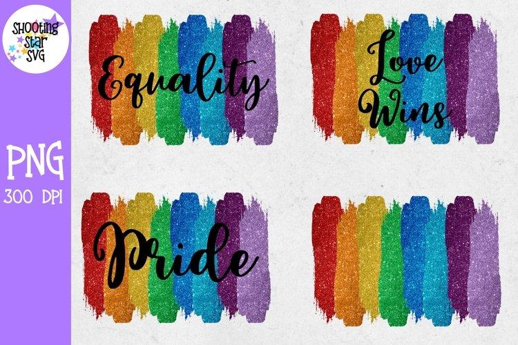 Pride Rainbow Glitter Sublimation Bundle - Rainbow Gay Pride