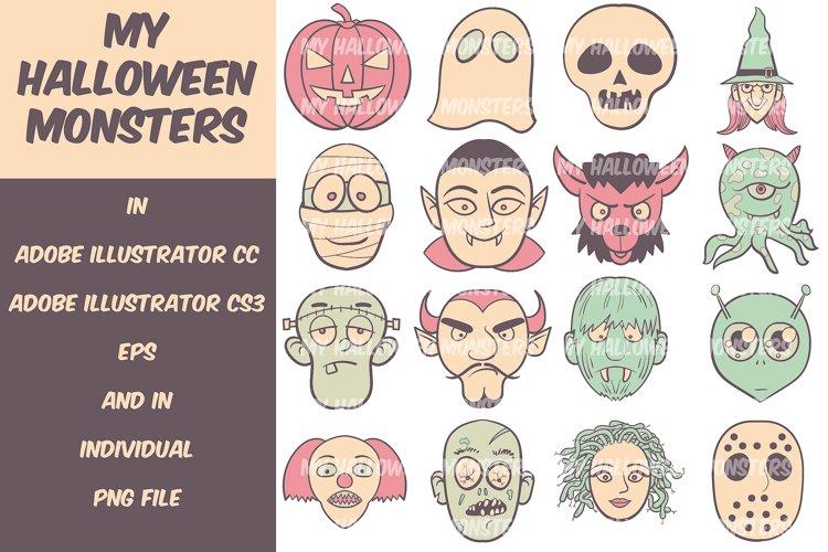 My Halloween Monsters