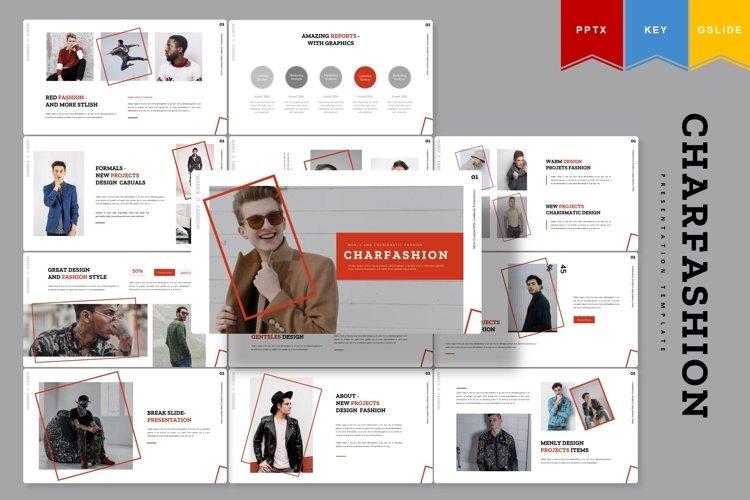 Charfashion | Powerpoint, Keynote, Google Slides Template example image 1