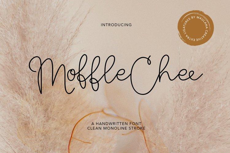 Moffle Chee Handwritten example image 1
