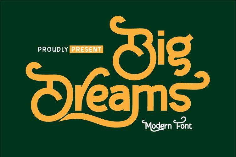Big Dreams example image 1