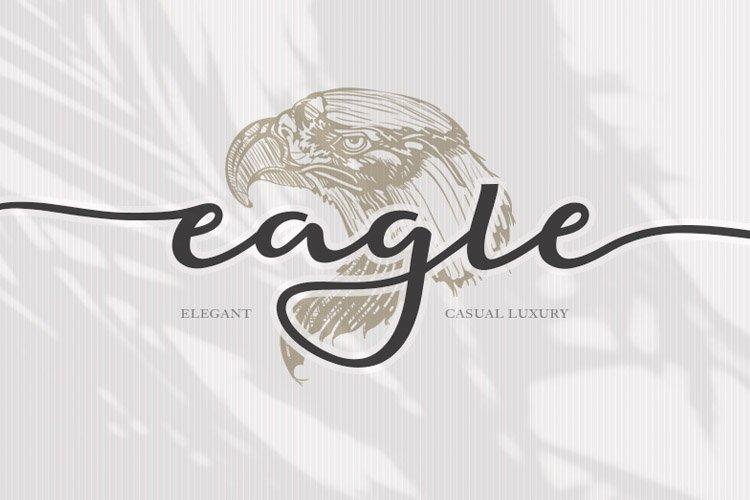 Eagle Script - Elegant Font example image 1